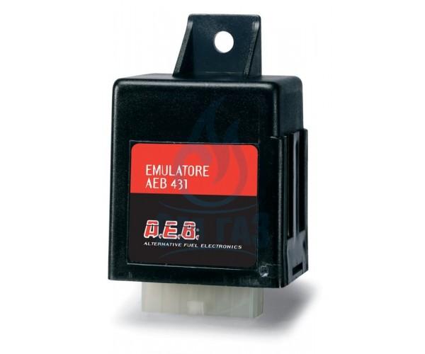 Емулатор AEB 431 - налягане на бензин